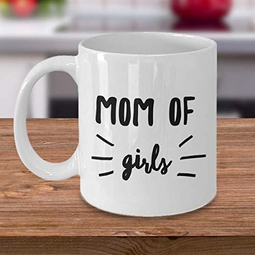 Mom of Girls 11oz Fancy Coffee Mug