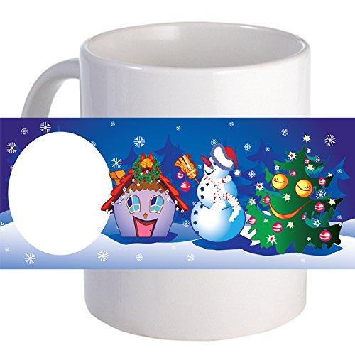 Personalized Christmas 11 oz Beautiful Decorative Coffee Mug