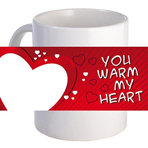 PersonalizedYou Warm My Heart 11 oz Beautiful Decorative Coffee Mug