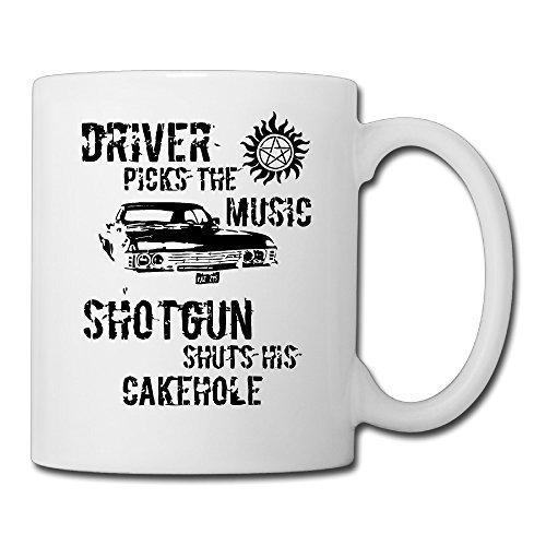 Driver Picks The Music Large Ceramic Coffee Mugs