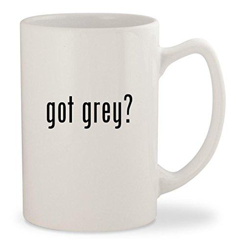 got grey - White 14oz Ceramic Statesman Coffee Mug Cup