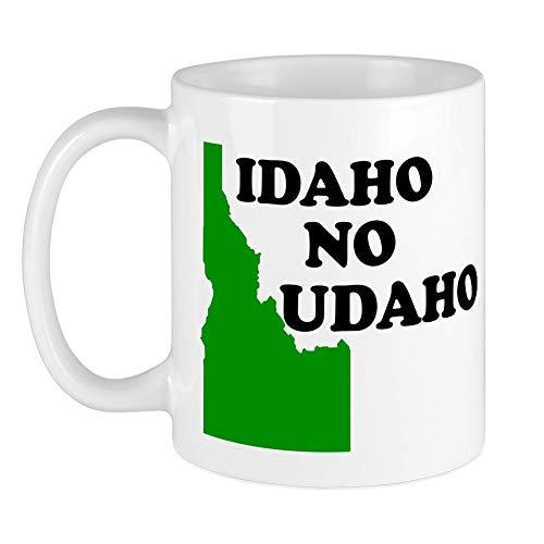 CafePress IDAHO NO UDAHO SHIRT TSHIRT T Mug Unique Coffee Mug Coffee Cup