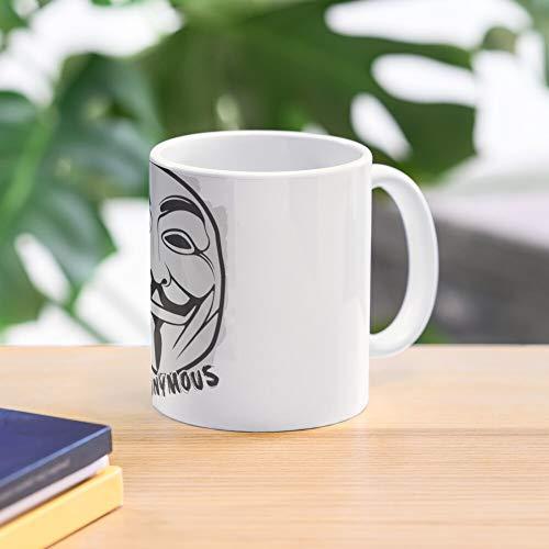 T Mug Shirt Anonymous Standard Handmade Top Selling 11 Oz White Novelty Gift Friend Mug