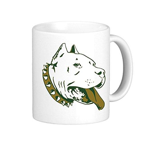 SthAmazing Dog White Mugs Imprinted Coffee Mugs