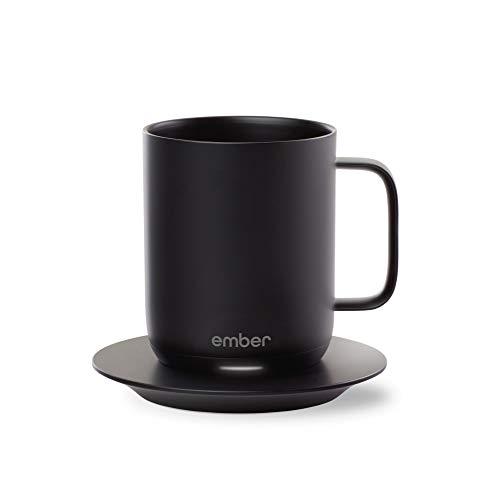 Ember Temperature Control Smart Mug 10 oz 1-hr Battery Life Black - App Controlled Heated Coffee Mug