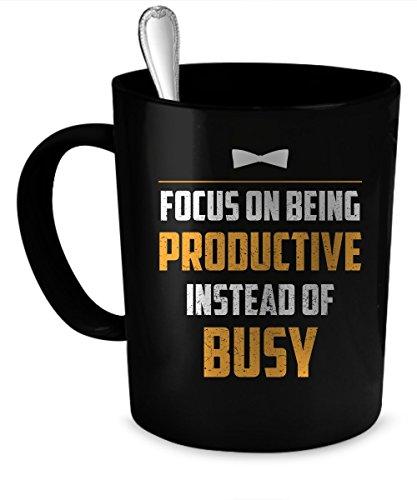Business Coffee Mug Business gift 11 oz black