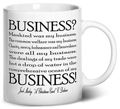 Tenacitee Business Coffee Mug 11oz White