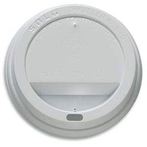 Domed Hot Beverage Lids For 8 oz Paper Cups Case of 1000