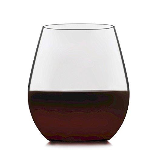 Libbey Signature Kentfield 4-piece Stemless Red Wine Glass Set