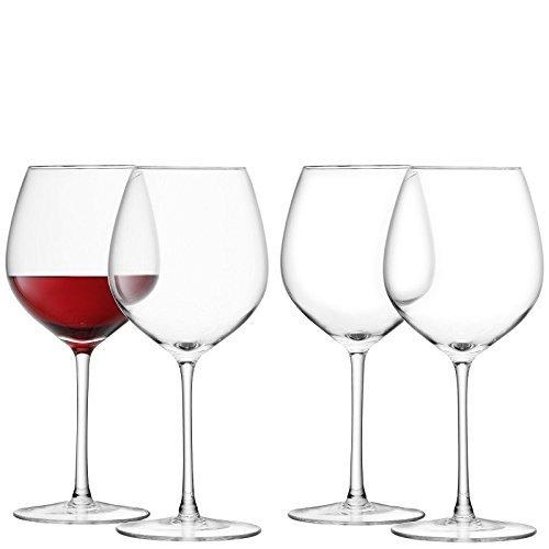 LSA International Wine Red Wine Glass 4 Pack 136 fl oz Clear