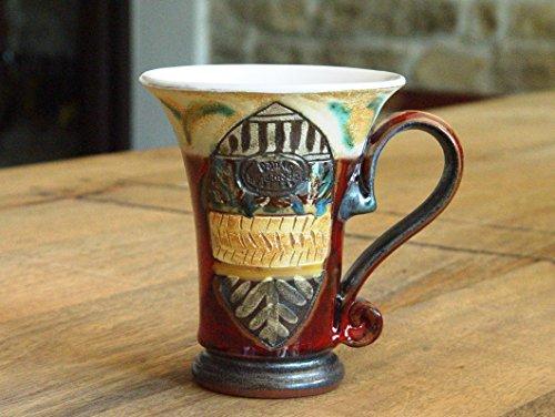 Red Ceramic Mug Earthen Coffee mug Unique Pottery Teacup