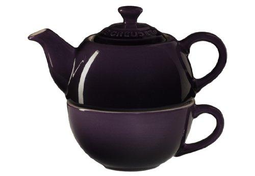 Le Creuset Stoneware Tea Cup Cassis