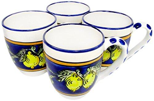 Le Souk Ceramique CQ57 Stoneware Tea Cups Set of 4 Citronique