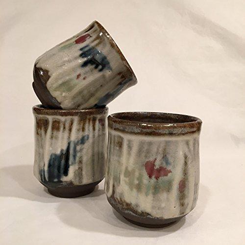 One Tea Cup Handmade Ceramic Cup Stoneware Teacup Yunomi 6 oz TCAUG17MC3
