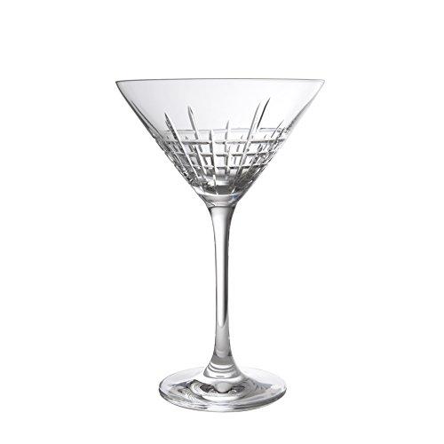 Schott Zwiesel Tritan Crystal Glass Distil Barware Collection Aberdeen Martini Cocktail Glasses Set of 6 85 oz Clear
