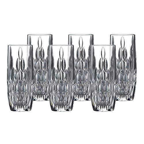Royal Doulton Retro Hiball Glasses Set of 6 Clear
