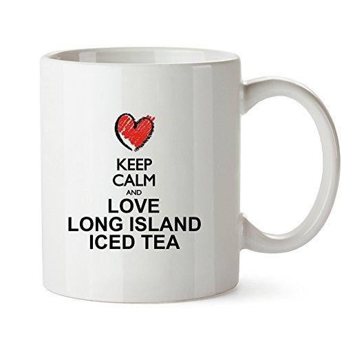 Idakoos - Keep calm and love Long Island Iced Tea chalk style - Drinks - Mug