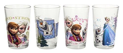 Disney Frozen Juice Glass Multicolor 8-Ounce Set of 4