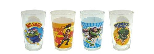 Disney Toy Story Juice Glass 8-Ounce Set of 4