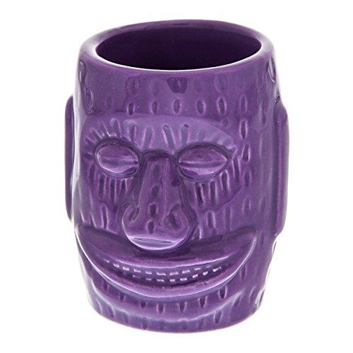 Big Ihu God KC Hawaii Ceramic Tiki Bar Shot Glass 15 oz