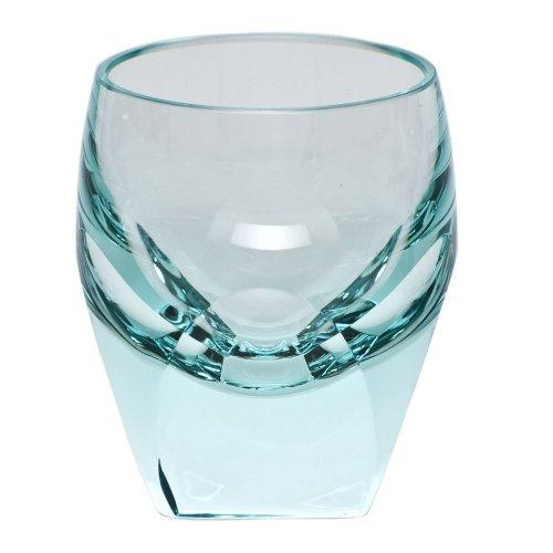 Moser Bar Shot Glass Beryl