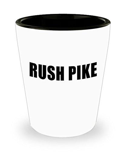 Rush Pike Pi Kappa Alpha Fraternity Bar Shot Glass 15oz