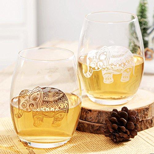 Mug For Coffee Milk Tea Drink Egg-Glass Cups Water Resistance  Wineglass 2 Piece Set