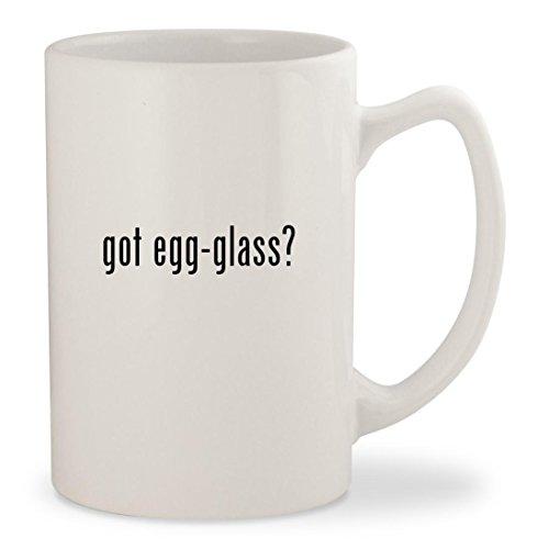 got egg-glass - White 14oz Ceramic Statesman Coffee Mug Cup