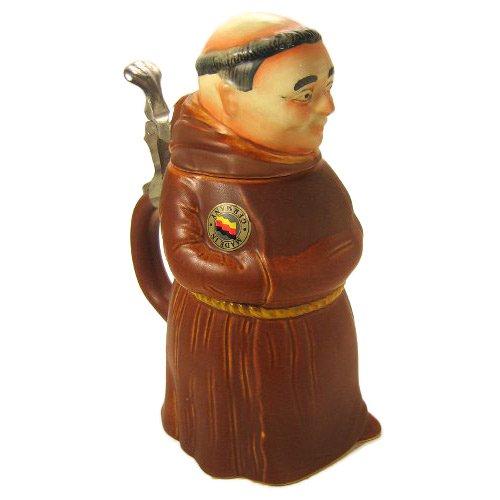 Beer Stein by King - Monk Speciality Figurine 3D German Beer Stein Beer Mug