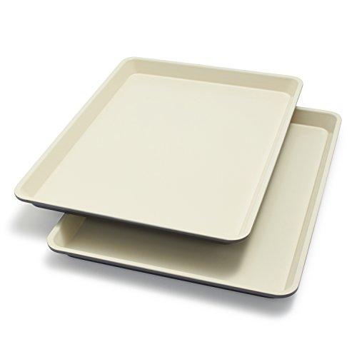 GreenPan Healthy Ceramic Nonstick Half Sheet Pans BW000048-002  Set of 2