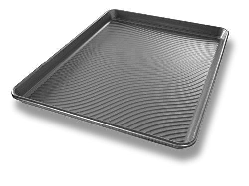 USA Pan Patriot Pan Bakeware Aluminized Steel Half Sheet Pan
