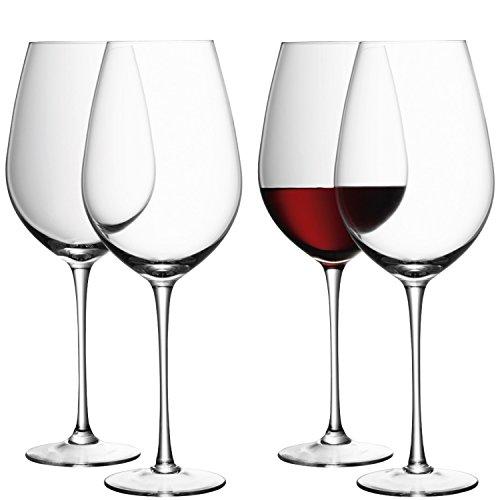 LSA International Wine Red Wine Goblet 4 Pack 286 fl oz Clear