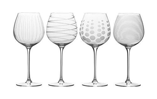 Mikasa Cheers White Wine Glasses 21-Ounce Set of 4