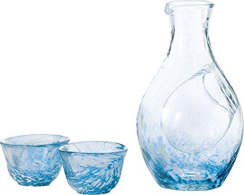 Liquor glass collection cold sake set G604-M70 japan import
