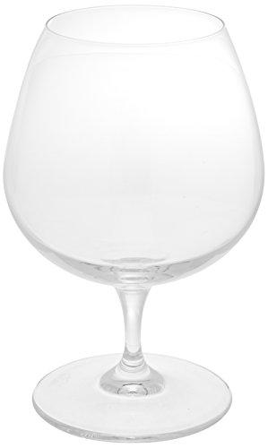 Bormioli Rocco Premium Cognac Glasses Clear Set of 6