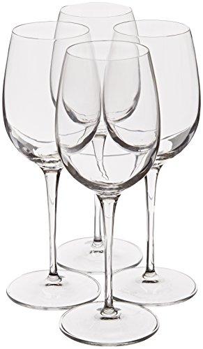 Luigi Bormioli Crescendo 13-Ounce Chardonnay Wine Glasses Set of 4