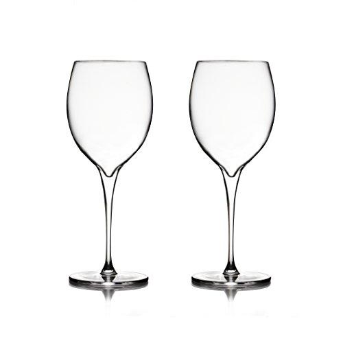 Nambé MT0950 Vie Chardonnay Wine Glasses Clear