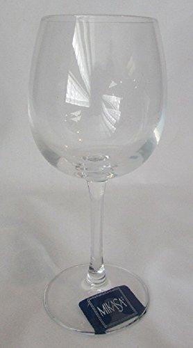 SET OF SIX - Mikasa Crystal 17 839 Chardonnay 425oz Wine Glasses