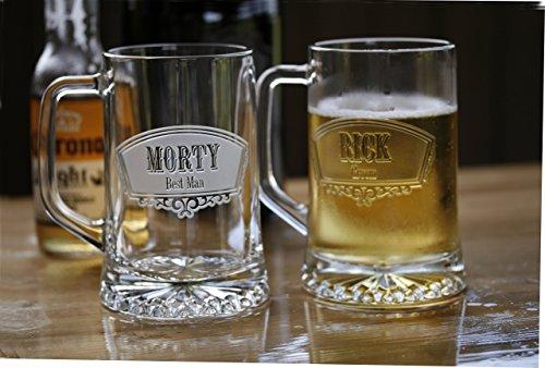 Groomsmen Gift Ideas Best Man Beer Mugs Set of 10