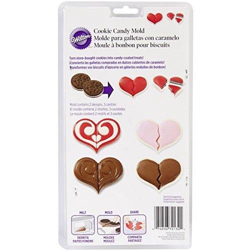 Wilton Double Heart Cookie Mold