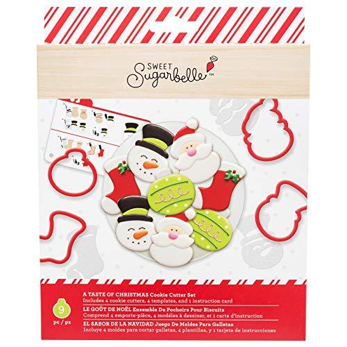 Sweet Sugarbelle 350350 A Taste of Christmas Cookie Cutter Set Mutli