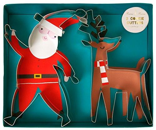 Meri Meri Santa Reindeer Cookie Cutters