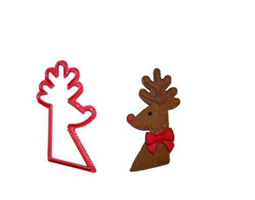 Reindeer Head Cookie Cutter