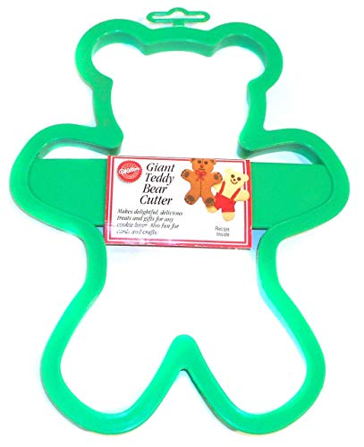 1992 NOS Vintage Wilton Giant Teddy Bear Cookie Cutter