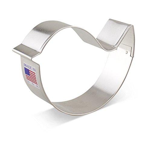 Ann Clark Teardrop Bird Cookie Cutter - 325 Inches - Tin Plated Steel