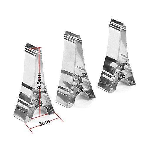 Stainless Steel DIY Fondant Cortador De Biscoito De Metal Biscuit Maker Tools Eiffel Tower Cookie Cutters 1 Piece