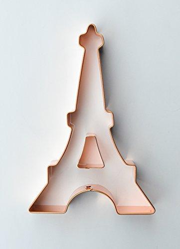 ecrandal Eiffel Tower 2 piece copper cookie cutters
