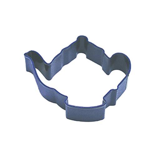 Dress My Cupcake Teapot Cookie Cutter 375-Inch Navy Blue