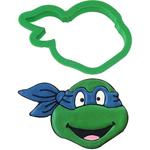 Ninja Turtle Cookie Cutter 4 in