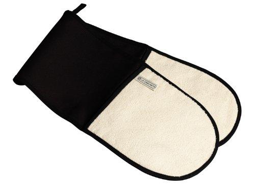 Le Creuset Hi-Tech Kitchen Textile Double Oven Glove Black